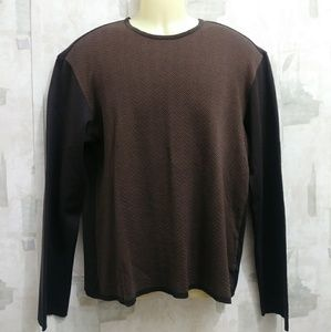 Hugo Boss vneck sweater - L